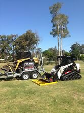 Best Rate Dry Hire Bobcat Skid steer tipper earthworks Brisbane Region Preview