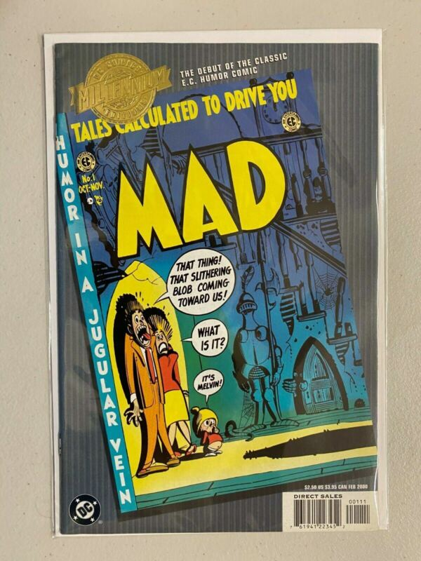 Millennium Edition Tales Calculated to Drive You Mad #1 Recalled 6.0 FN (2000)