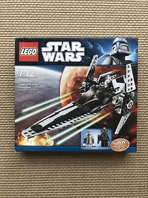 LEGO Star Wars 7915 Imperial V-wing 100% Complete With Box And Instructions