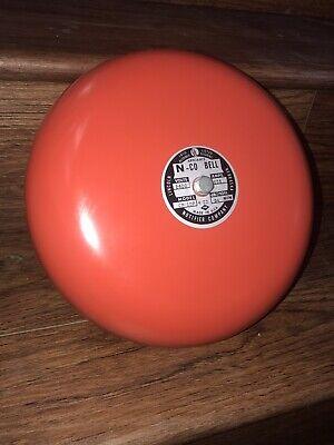 Fire Alarm Bell By Notifier Co. N-co. 10 Model Cp-10p Bell Niob 84 Decibels New