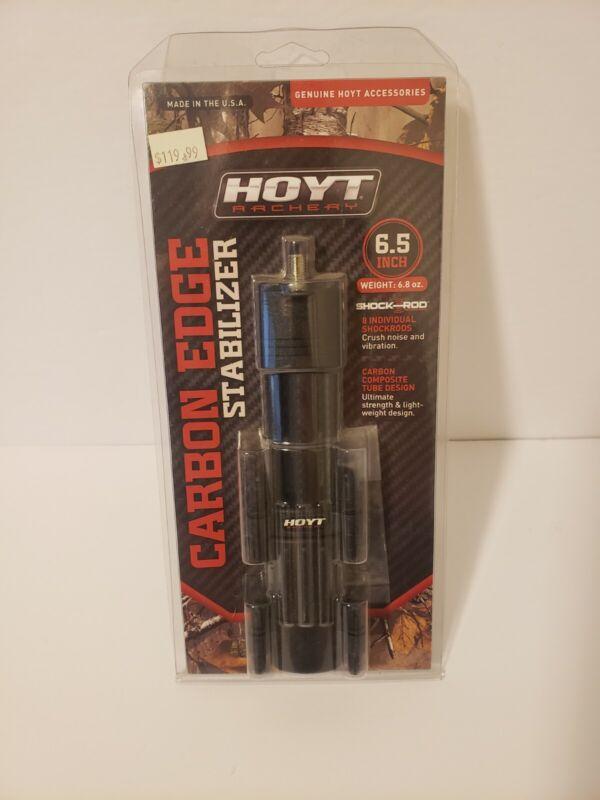 """Hoyt 6-1/2"""" CARBON EDGE Black STABILIZER 6.8 oz NEW Blackout"""