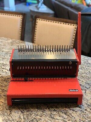 Ibico Seestrasse 346 Ag Ch-8038 Type A4-pb Plastic Comb Binder Binding Machine
