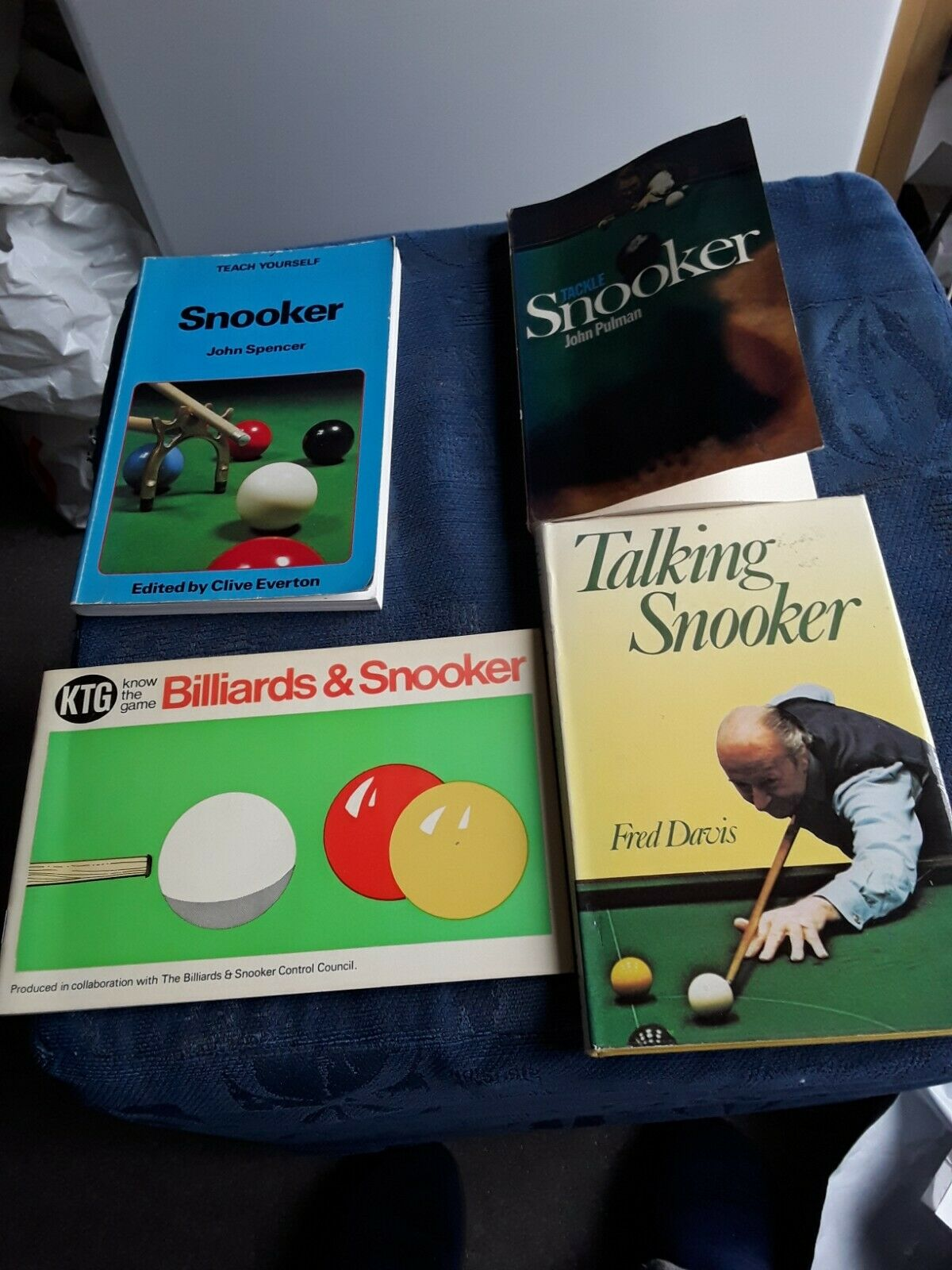 assorted snooker books
