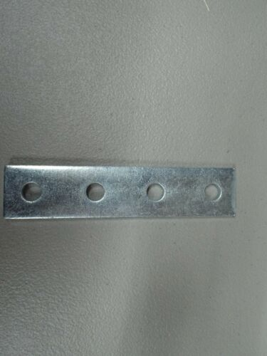 Pupco - AS-888, 4 Hole Flat Splice Plate for Unistrut