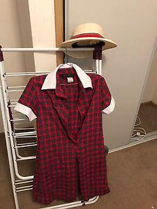 Mentone Girls Grammar uniform size 10 and hat L85-95cm Aspendale Gardens Kingston Area Preview