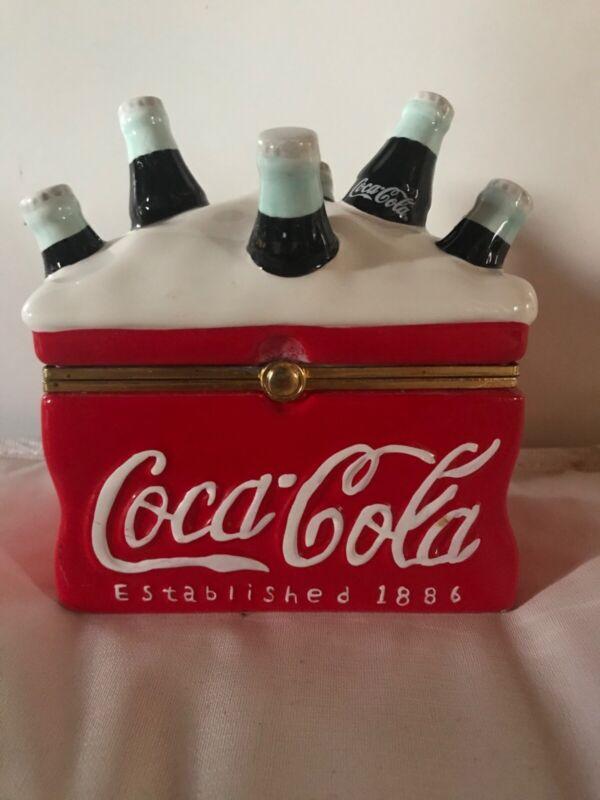 Coca Cola Cooler Jar