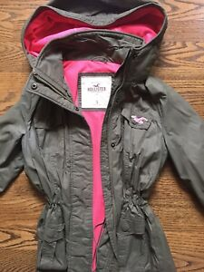 Hollister 3/4 jacket size small