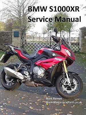 BMW S1000XR S1000 2015 on Service Workshop Owners Manual