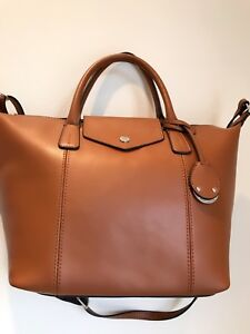100% italian leather bag
