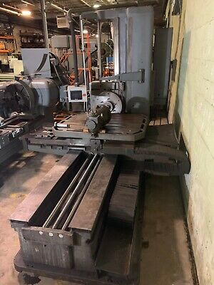 Supermill Al-92 4table Type 48 X 60horizontal Boring Mill Upgraded Controls