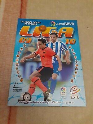 Album Vacio Plancha Liga 2009 2010 09 10 Con Messi Perfecto Estado...