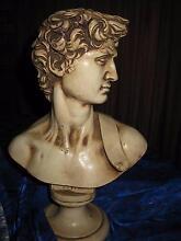 Superb Antique Italian Bust of Michelangelo's David's head Balwyn Boroondara Area Preview
