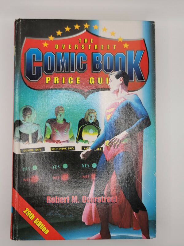 Vintage 1999 The Overstreet Comic Book Price Guide 29th Edition Hard Cover