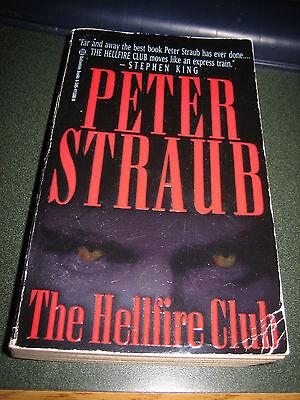 The Hellfire Club By Peter Straub  1997  Paperback