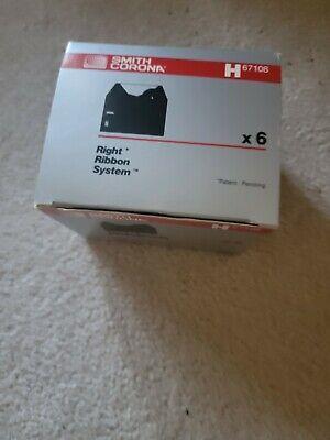 Smith Corona H67108 Correctable Film Ribbons Six 6 New In Sealed Box