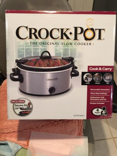 Crock Pot Slow Cooker 4 Qt