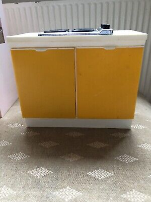 Vintage Pedigree Sindy Doll House Furniture - Kitchen Cooker Unit
