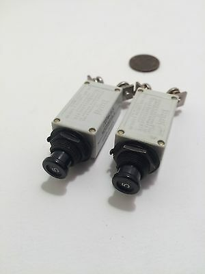 Aircraft 2A Klixon NSA931320-020 Circuit Breaker 2TC50-2 28VDC-115VAC 400HZ
