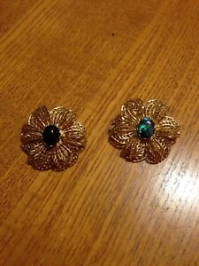 Pair of Brooches