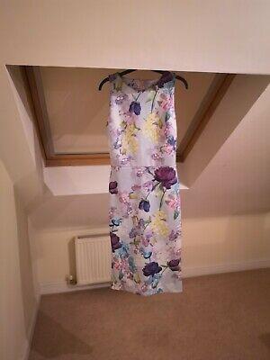 Next Hope & Ivy UK 12 Multicoloured Floral Print Pencil Dress BNWT *New*