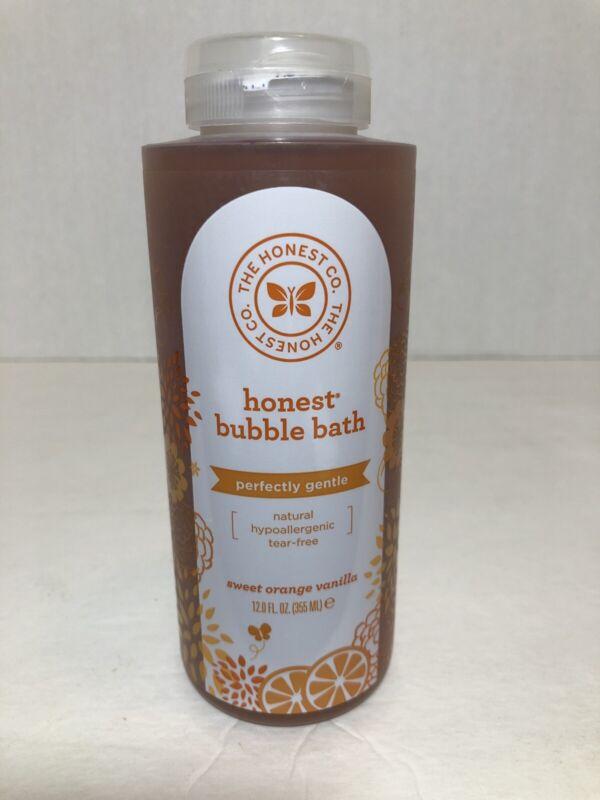 The Honest Company Purely Simple Bubble Bath Sweet Orange Vanilla 12 Fl Oz