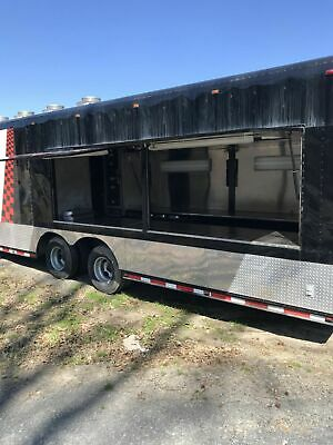 8 X 48 Mobile Kitchen Catering Concession Gooseneck Trailer For Sale In Arkans
