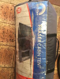FRASER Cabin tent 12 person tent & Wild country cabin tent 108   Camping u0026 Hiking   Gumtree Australia ...