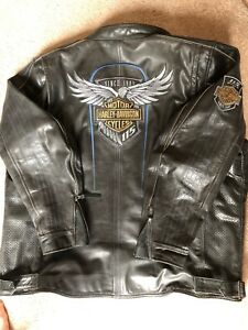 Harley-Davidson 115 Anniversary Leather Jacket 3XL