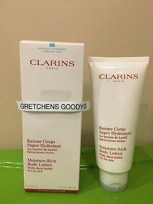 Clarins Moisture Rich Body Lotion for Dry Skin 6.5 oz -