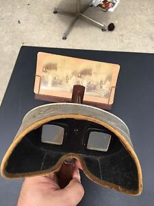 Stereoscope 1901, with 48 photos
