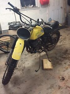 Looking for parts for a 1977 Suzuki Rm250
