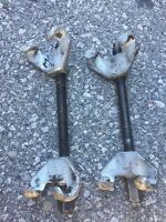 Found Strut spring squeezing tool