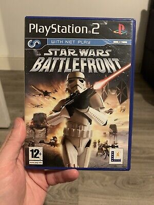 Star Wars - Battlefront 1  -  (PS2) - pal