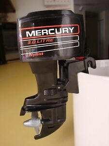 Mercury Nylint Toy Outboard Boat Motor Battery Powered