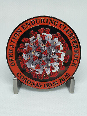 Operation Enduring Clusterfuck CHALLENGE COIN -just like patch essential police