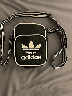 Adidas Overbody Bag Black And White Adidas Bag