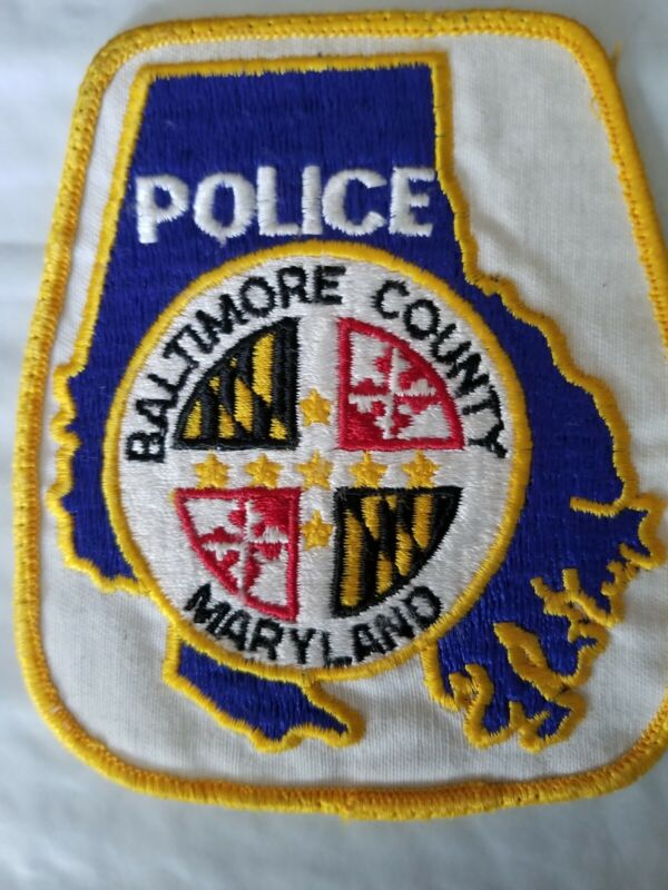 Baltimore County Maryland Police patch