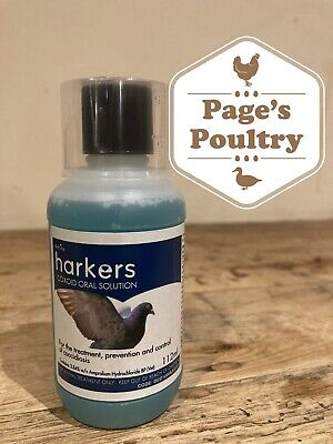 Harkers Coxoid Water-soluble treatment for coccidiosis 112ml *Next Day Available