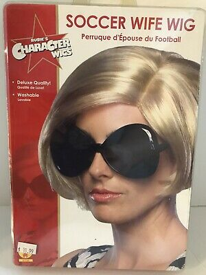 Soccer Wife Short Bob Wig Victoria Beckham Posh Spice Dress Up Halloween Costume](Posh Spice Halloween Costumes)