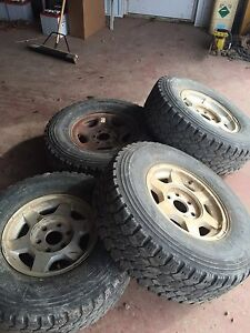 M 55 tires on chevy 6 bolt rims