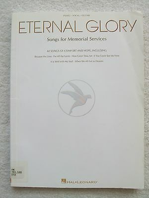 Eternal Glory 42 Songs Memorial Services Voice Piano Unmarked