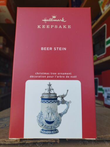 2020 Hallmark Ornament   Beer Stein  NIB