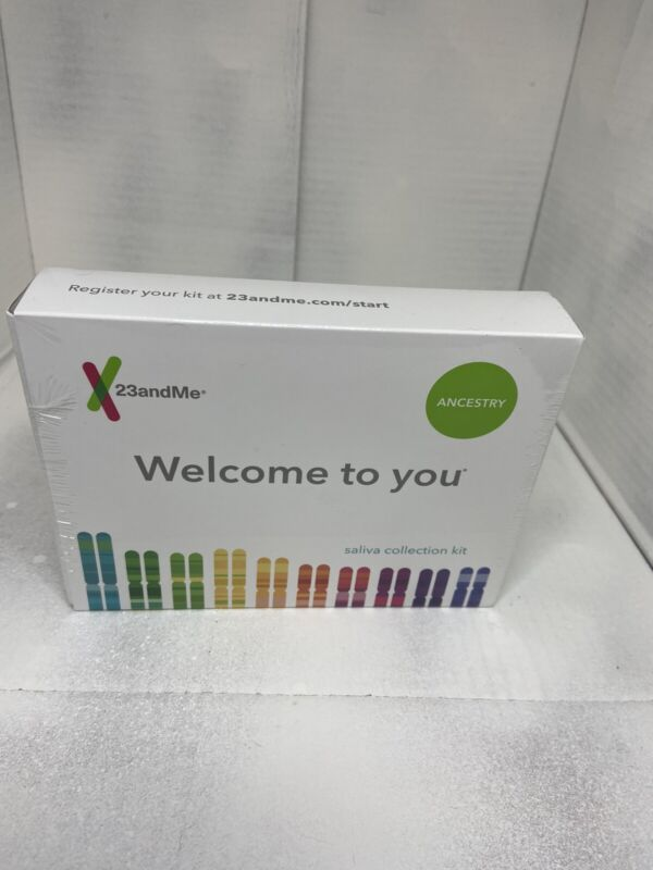 23andMe Genetic Ancestry Test exp 9-18-2020 free shipping