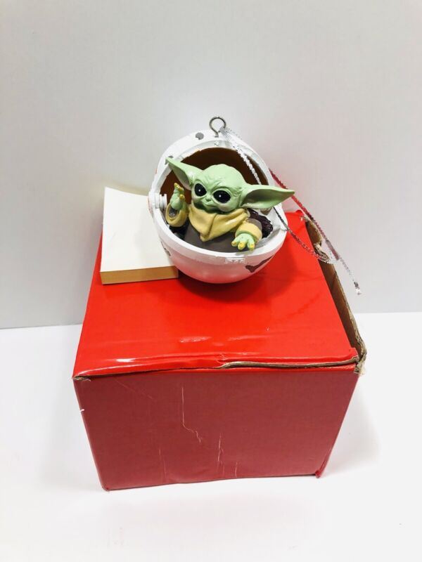 The Child Mandalorian- Baby Yoda Christmas Ornament- New (Other) H14