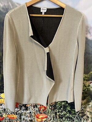 Armani Collezioni Womens Jacket Made In Italy Size 10