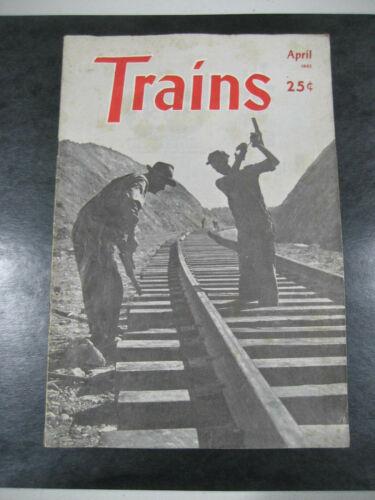 Vintage Trains Magazine April 1945