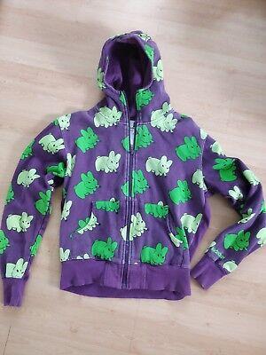 Original KIDROBOT X KOZIK Hoodie Shirt Labbit Purple M L Codeine Limited 92/256, gebraucht gebraucht kaufen  Stuttgart