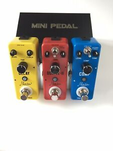 New Effects Pedals - Free Patch Cable, Tuner & Adapter