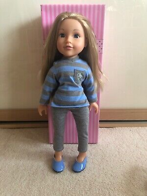 Design a Friend Chloe Doll with box and bracelet