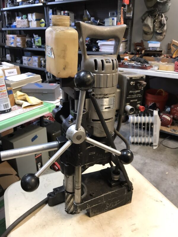 Hougen Model 10915 Heavy Duty Magnetic Drill Press  Used